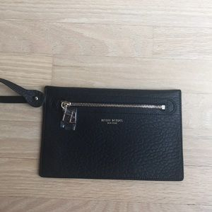 Henri Bendel leather pouch